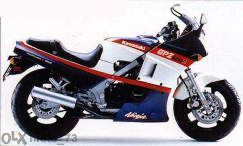 Kawasaki - gpz 600