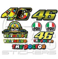 Valentino Rossi 46 MotoGP комплект стикери