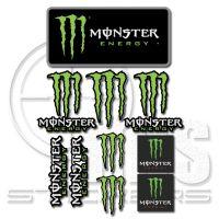 Monster комплект стикери 29 х 22 см