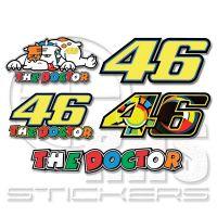 Valentino Rossi 46 MotoGP комплект 20 х 29 см VR02