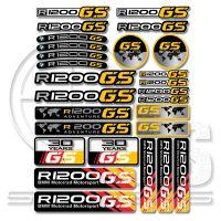 BMW R1200 GS комплект стикери 31 х 24 см