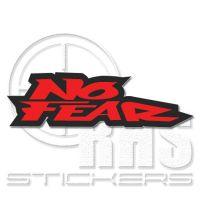 No Fear 2бр. стикери 14 см