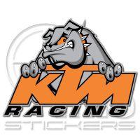 KTM KTM racing стикери 10 х 8