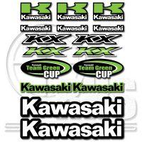 Kawasaki Kawasaki комплект стикери 29 х 22 см