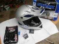 Shark MX200 нов с ръкавици 2016