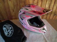 Airoh мотокрос шлем каска розов 2018