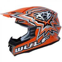 Крос каска Wulfsport libre X orange