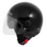 Каска за скутер TRAFFIC BLACK
