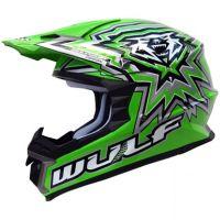 Крос каска Wulfsport libre X green