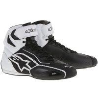 Обувки ALPINESTARS FASTER-2 VENTED BLACK/WHITE