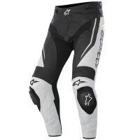 Кожен панталон ALPINESTARS TRACK BLACK/WHITE