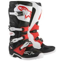 Ботуши ALPINESTARS TECH 7 BLACK/RED/WHITE