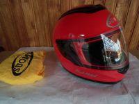 Suomy Dark Metal мото шлем каска червен