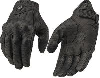 Кожени мото ръкавици ICON Pursuit,размер L,NEW