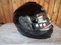 HJC IS-17 с тъмни очила мото шлем каска
