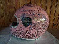 Shark S600 Folies розов мото шлем каска