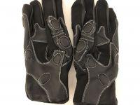 Къси кожени ръкавици RAINERS Racing, L,NEW