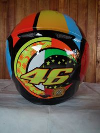 AGV K-3 SV Elements Valentino Rossi с тъмни очила мото