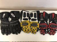 Кожени мото ръкавици,размер М,35лв.