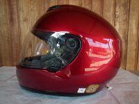 Shoei Raid 2 виненочервен мото шлем каска