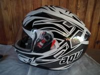 AGV K-3 SV Rookie с тъмни очила мото шлем каска