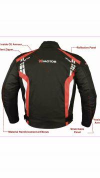 Текстилно мото яке X-MOTOS ,размер S 48-50,NEW