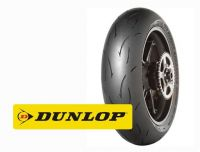 Dunlop Задна полусликова гума DUNLOP GP RACER D212 180