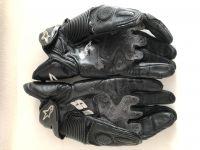 Къси кожени ръкавици ALPINESTARS S1,размер L,запазени!