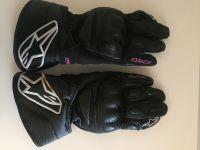 Дамски кожени ръкавици ALPINESTARS SP-8,XS, много запаз