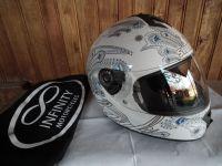 Shark S600 Folies мото шлем каска за мотор бял
